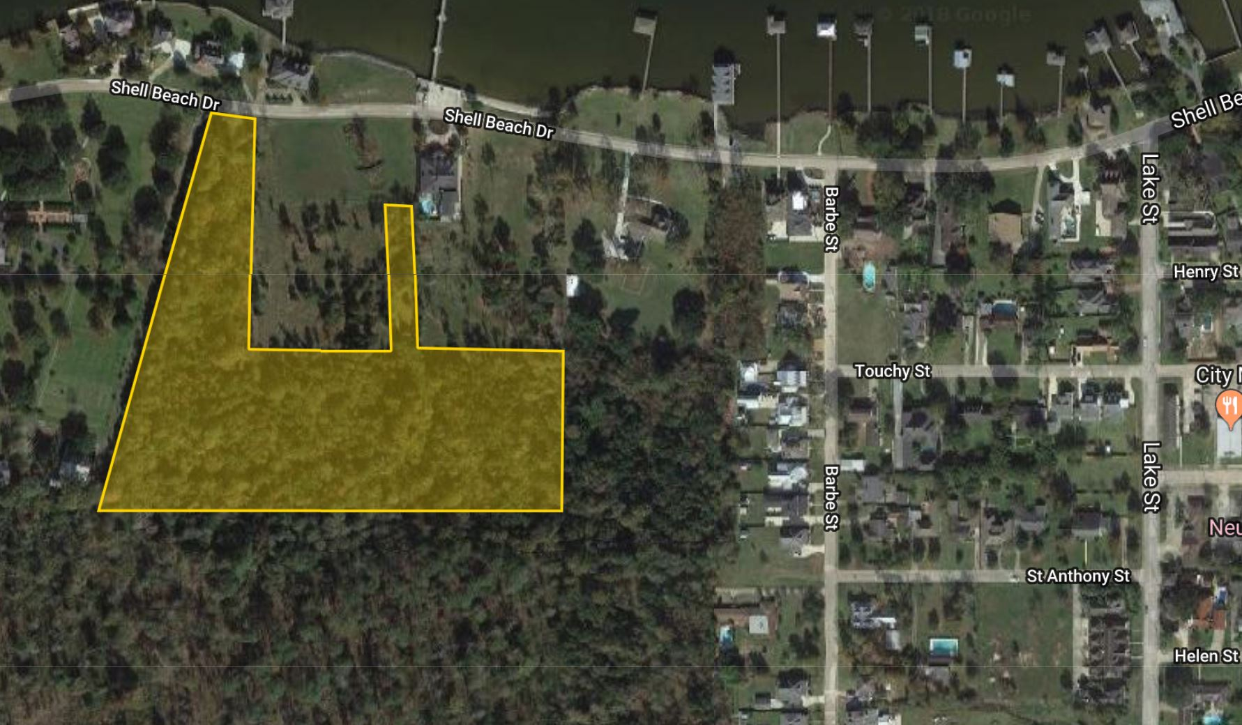 10 Acres off of Shell Beach Drive